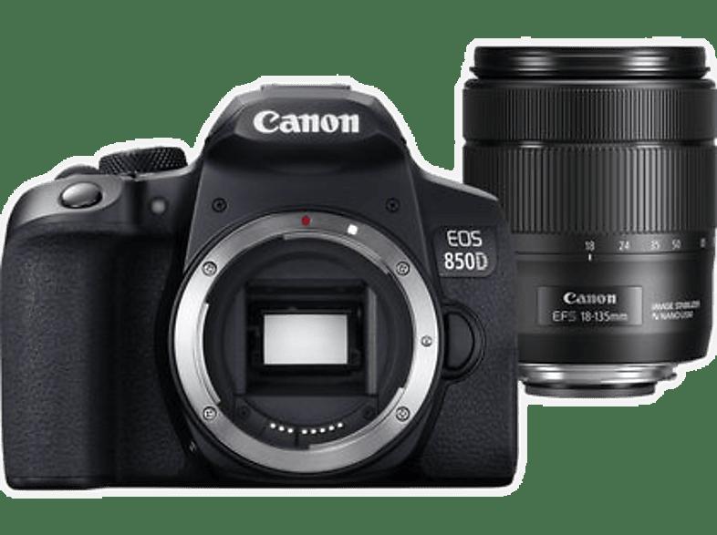 CANON Reflexcamera EOS 850D + 18-135 mm (3925C020AA)