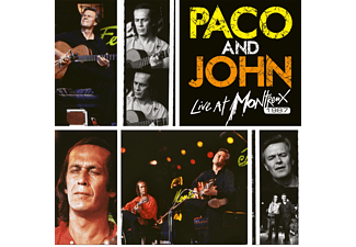 Paco De Lucia & John McLaughlin - Paco And John Live At Montreux 1987 (Yellow, Orange Vinyl) (Vinyl LP (nagylemez))