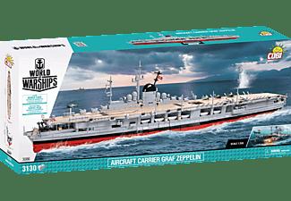 COBI WoW Flugzeugträger Graf Zeppelin Modellbauschiff, Mehrfarbig