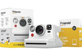 POLAROID Now Kamera Everything Box Sofortbildkamera, Weiß