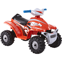 ROLLPLAY ATV Mini Quad Kinderfahrzeug} Rot} }