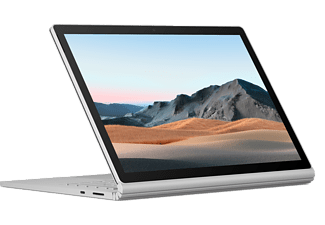 MICROSOFT Surface Book 3, 13.5 Zoll, i5-1035G7, 8GB RAM, 256GB SSD, Platin (V6F-00005)
