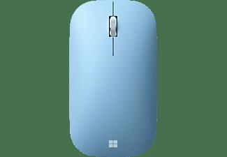 MICROSOFT Modern Mobile Mouse, kabellos, Pastellblau (KTF-00029)