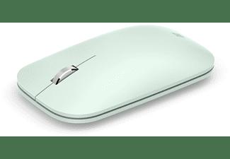Ratón inalámbrico - Microsoft Modern Mobile Mouse KTF-00021, Bluetooth, Verde menta