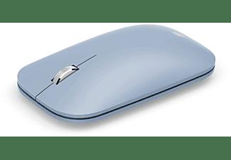 Ratón inalámbrico - Microsoft Modern Mobile Mouse KTF-00033, Bluetooth, Azul pastel