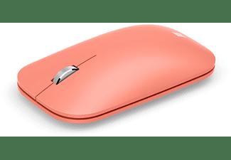Ratón inalámbrico - Microsoft Modern Mobile Mouse KTF-00045, Bluetooth, Melocotón