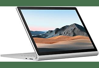 MICROSOFT Surface Book 3, Convertible mit 13,5 Zoll Display, Core™ i7 Prozessor, 32 GB RAM, 512 GB SSD, GeForce® GTX 1650, Platin