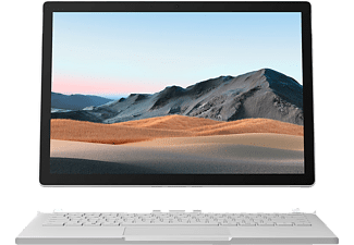 MICROSOFT Surface Book 3, Convertible mit 13,5 Zoll Display, Core™ i7 Prozessor, 32 GB RAM, 1 TB SSD, GeForce® GTX 1650, Platin