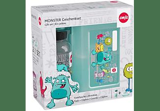 EMSA Geschenkset Monster (Trinkflasche 0.4l + Brotdose)