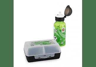 EMSA Geschenkset Soccer (Trinkflasche 0.4l + Brotdose)