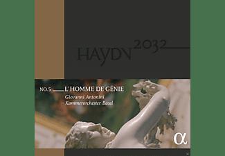 Giovanni Antonini, Kammerorchester Basel - Haydn 2032 Vol.5-L'Homme de Génie  - (Vinyl)