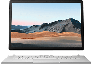 MICROSOFT Surface Book 3, Convertible mit 15 Zoll Display, Core™ i7 Prozessor, 16 GB RAM, 256 GB SSD, GeForce® GTX 1660 Ti, Platin