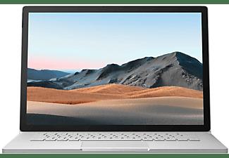MICROSOFT Surface Book 3, Convertible mit 15 Zoll Display, Core™ i7 Prozessor, 32 GB RAM, 512 GB SSD, GeForce® GTX 1660 Ti, Platin