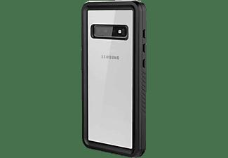 BLACK ROCK 360° Hero, Full Cover, Samsung, Galaxy S10, Transparent/Schwarz