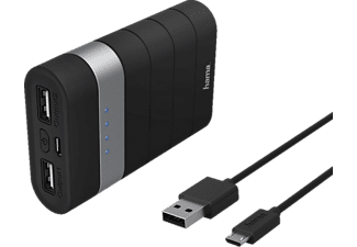 HAMA Power Pack Trip Li-lon Powerbank, 7800 mAh