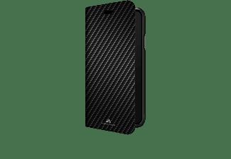 BLACK ROCK Flex Carbon, Bookcover, Samsung, Galaxy S10, Schwarz