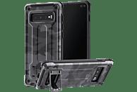 HAMA Army, Backcover, Samsung, Galaxy S10+, Grau/Schwarz/Camouflage