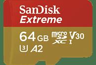 Product Image SanDisk Extreme MicroSDXC Speicherkarte mit 64 GB