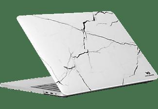 WHITE DIAMONDS Marble Notebooktasche Backcover für Apple Kunststoff, Weiß