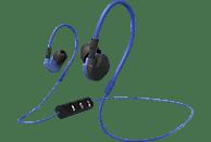 HAMA Clip-On Active BT, In-ear Kopfhörer Bluetooth Blau/Schwarz