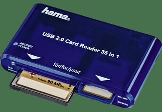 HAMA 35-in-1 USB 2.0, Multikartenleser, Blau