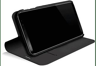 BLACK ROCK Flex Carbon, Bookcover, Samsung, Galaxy A7 (2018), Schwarz