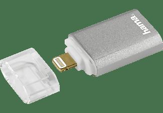 HAMA Save2Data mini Lightning, Kartenleser, Silber