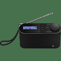 HAMA DR15 Digitalradio, DAB, DAB+, FM, Schwarz