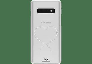 WHITE DIAMONDS Eternity, Backcover, Samsung, Galaxy S10, Crystal