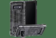 HAMA Army, Backcover, Samsung, Galaxy S10e, Grau/Schwarz/Camouflage