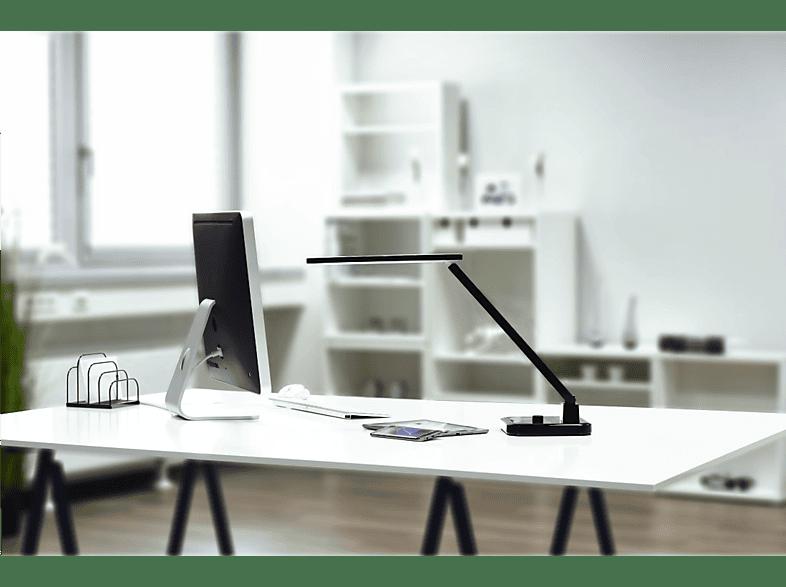 Schreibtischlampe-schwarz-LED