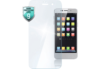 HAMA Premium Crystal Glass Schutzglas(für Huawei Y6 (2018)/Honor 7A)
