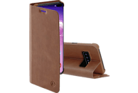 HAMA Guard Pro, Bookcover, Samsung, Galaxy S10+, Braun