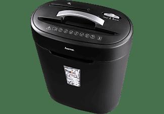HAMA Premium X10CD Aktenvernichter, Schwarz/Silber