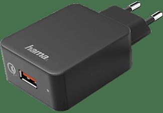 HAMA Qualcomm® Quick Charge™ 3.0 Ladegerät Universal, Schwarz