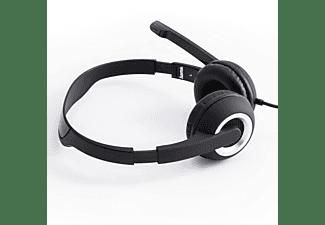 HAMA HS-P150, On-ear Headset Silber/Schwarz