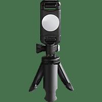 HAMA Pocket Smartphone Dreibein Ministativ, Schwarz, Höhe offen bis 50 mm