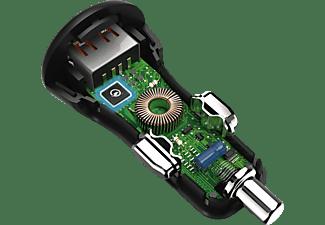 HAMA Qualcomm® Quick Charge™ 3.0 Kfz-Ladekabel Universal, Schwarz