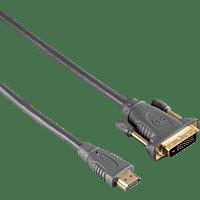 HAMA DVI-HDMI 1,8 m, Kabel, 1,8 m