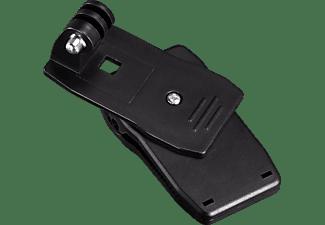 HAMA Befestigungsklammer 360° für GoPro, ActionCam-Halterung, Schwarz, passend für Actioncams
