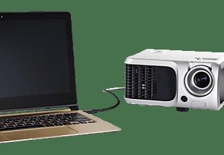 HAMA USB-C Adapterkabel, Schwarz
