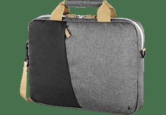 HAMA Florenz Notebooktasche Aktentasche für Universal Polyester, Dunkelgrau/Schwarz