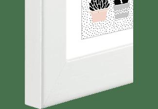 HAMA Holzrahmen Lahti (13 x 18 cm, Weiß)