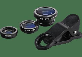 HAMA Uni 3in1-Objektiv-Set Schwarz