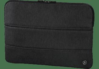 HAMA Manchester 13.3 Zoll Notebook-Sleeve für Universal Polyester, Schwarz