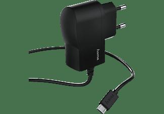 HAMA Micro-USB Ladegerät Universal, 5 Volt, 1000 mAh, Schwarz