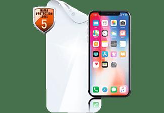 HAMA Crystal Clear Schutzfolie (für Apple iPhone XS)