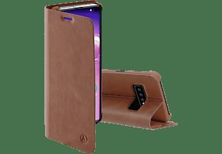 HAMA Guard Pro, Bookcover, Samsung, Galaxy S10, Braun