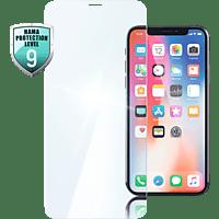 HAMA Premium Crystal Glass, Schutzglas für iPhone X, iPhone XS