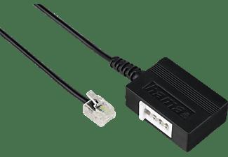 HAMA Modular-Stecker 6p4c, Telefon-Adapter, 0,2 m